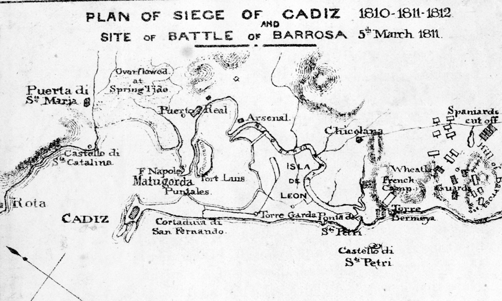 The 2/67th at Cadiz and Barossa, 1810-11