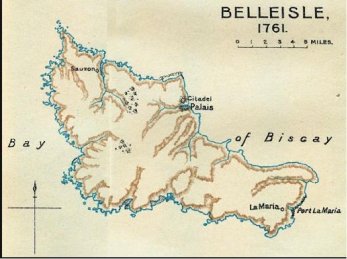 Capture of Belle Isle, 1761